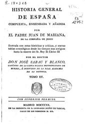 Historia general de España: Volumen 15