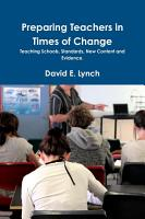 Preparing Teachers in Times of Change PDF