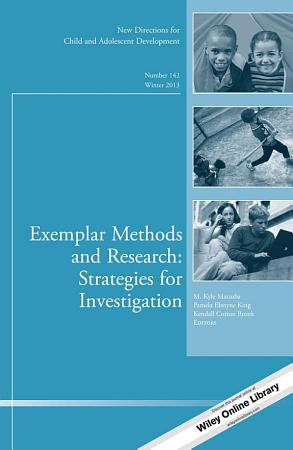 Exemplar Methods and Research  Strategies for Investigation PDF