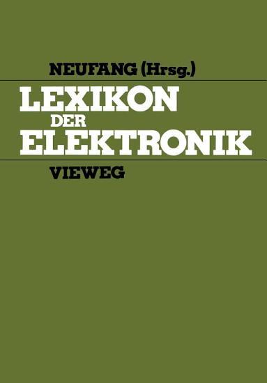 Lexikon der Elektronik PDF
