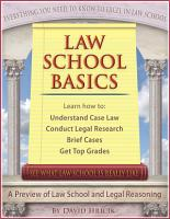 Law School Basics PDF