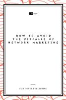 How to Avoid the Pitfalls of Network Marketing PDF