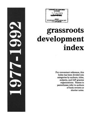 Grassroots Development