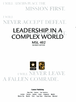 Leadership in a complex world PDF