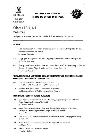 Ottawa Law Review PDF