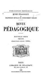 Revue pédagogique: Volume18