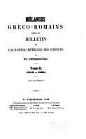 M  langes gr  co romains PDF