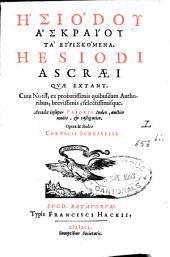 Hesiodi Ascraei quae extant