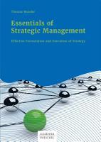 Essentials of Strategic Management PDF