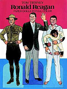 Ronald Reagan Paper Dolls in Full Color Book