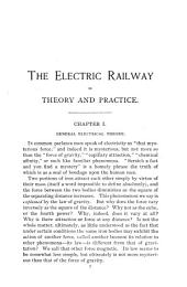 The Electric Railway in Theory and Practice