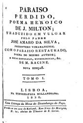Paraiso perdido: poema heroico, Volume 1