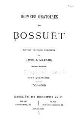 Oeuvres oratoires: 1661-1666