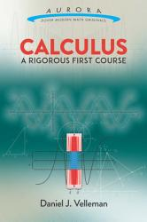 Calculus  A Rigorous First Course PDF
