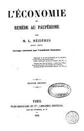 L'Économie óu, Remède au paupérisme