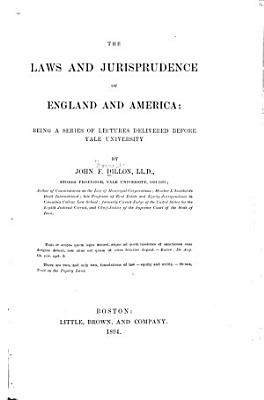The Laws and Jurisprudence of England and America PDF