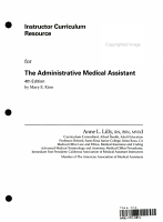 Instructor s Manual to Accompany the Administrative Medical Assistant PDF