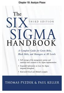 The Six Sigma Handbook  Third Edition  Chapter 10   Analyze Phase PDF