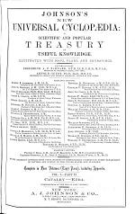 Johnson's New Universal Cyclopædia : a Scientific and Popular Treasury of Useful Knowledge