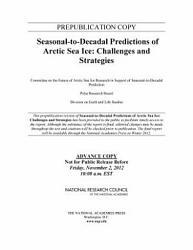 Seasonal To Decadal Predictions Of Arctic Sea Ice Book PDF