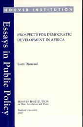 Prospects for democratic development in Africa