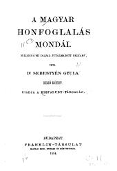 A magyar honfoglalás mondái: 2. kötet
