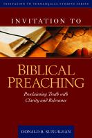Invitation to Biblical Preaching PDF