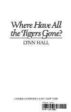 Where Have All the Tigers Gone  PDF