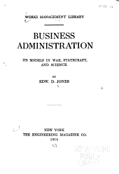 Business Administration: Its Models in War, Statecraft, and Science