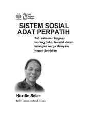 Sistem Sosial Adat Perpatih