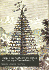 Comparative Aesthetics: Proportion and harmony of line and color in painting, sculpture, and architecture. 2d ed. rev. 1909