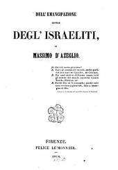 Dell' emancipazione civile degl' Israeliti
