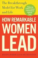 How Remarkable Women Lead PDF