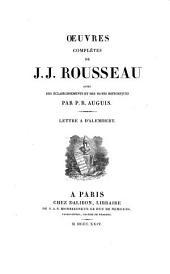 Oeuvres complètes de J.J. Rousseau: Volume2