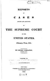 United States Reports: Cases Adjudged in the Supreme Court, Volume 22