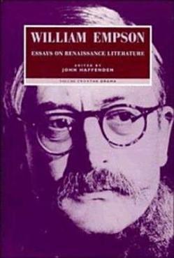 William Empson  Essays on Renaissance Literature  Volume 2  The Drama PDF