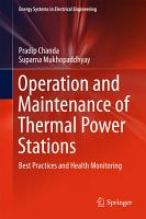 Operation and Maintenance of Thermal Power Stations PDF