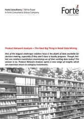 Product Network Analysis – The Next Big Thing in Retail Data Mining