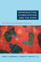 Reproduction  Globalization  and the State PDF