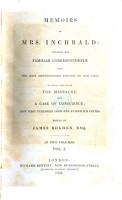 Memoirs of Mrs  Inchbald PDF