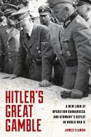 Hitler s Great Gamble PDF
