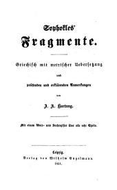 Werke: Fragmente, Band 8