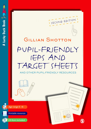 Pupil Friendly IEPs and Target Sheets