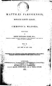 Matthaei Parisiensis, monachi Sancti Albani, Chronica majora: 1067-1216