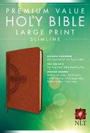 Premium Value Slimline Bible Large Print NLT  Cross