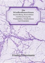 Die Windkraftmaschinen