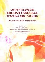 Current Issues in English Language Teaching and Learning PDF