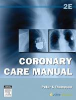 Coronary Care Manual PDF
