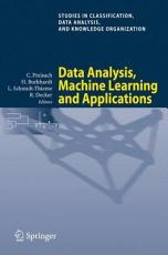 Data Analysis  Machine Learning and Applications PDF