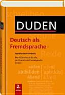 Duden  Deutsch als Fremdsprache Standardw  rterbuch PDF